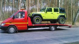 Pomoc Drogowa Autolaweta Przewóz Pojazdów Maszyn Laweta Holowanie