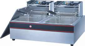 Double 6lx6l Electric fryers