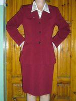 Элегантный костюм жакет юбка 46-48 размера, школьная форма