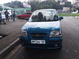 2007 HYUNDAI ATOS WITH AN ENGINE CAPACITY OF 1, 1