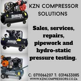 Compressors and other equipment
