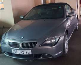 Bmw convertible 645ci Collector's item