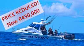 SKIBOAT FOR SALE - 28-foot LEECAT 800 EXPRESSA