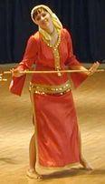 Платье для восточных танцев саиди б/у размер 46 (М)