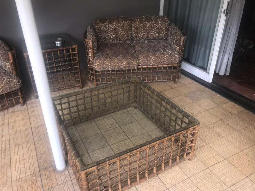 Rottang lounge suite / patio set 0