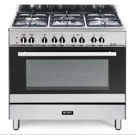 Elba Silver Classic 5 Burner Gas/Electric Stove - 01/9CX827N