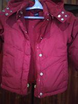 Продам теплые детские куртки и пуховик