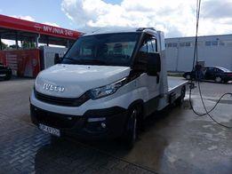 Wynajem auto-lawety Nowe Iveco Daily 299zł Transport Laweta A4 Wrocław