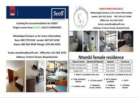 female students accommodation