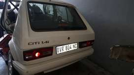 VW CITY GOLF 1 STRIPING FOR SPARES AT EDENVALE AUTO SPARES