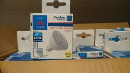Żarówka Kanlux LED-4,5W-MR16 - 9 sztuk