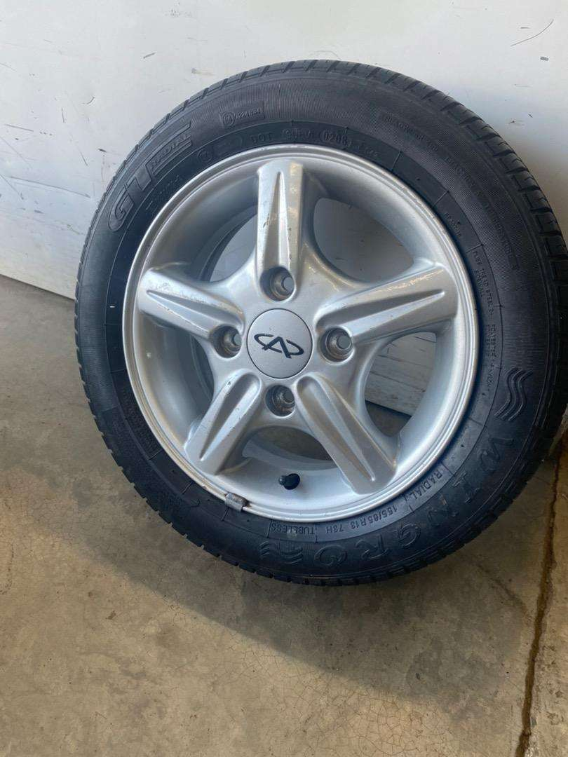 """13"""" new rim and tyre"""