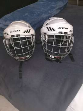 2xice hockey helmets certified CCM medium