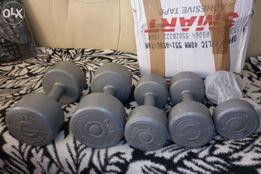 Zestaw Hantle 6 Sztuk Pro Fitness, Ciężarki Waga 15,8 kg