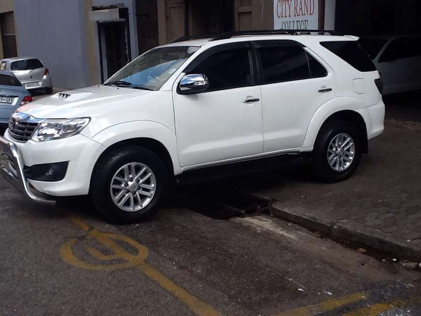 Toyota Fortuner is now available for sale