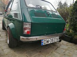 Fiat 126p lampy tylne tuning. Białe klosze. Nowe fabrycznie.