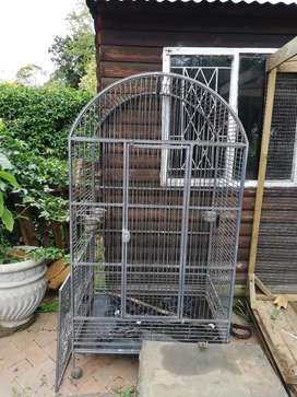 Large indoor Parrot cage