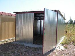 Garaże blaszane blaszaki garaż blaszany blaszak wyprzedaż produkcja