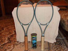 Продам ракетки и мячи для большого тенниса
