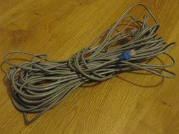 кабель utp data cable 2pr 24awg category 5e - 18 метров с коннекторами