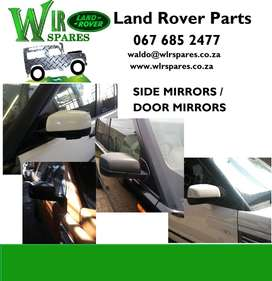 Land Rover Used Spares - Side Mirrors for sale