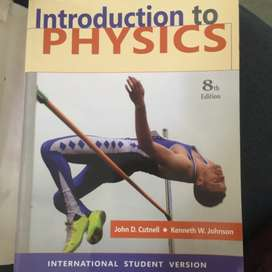Introduction to Physics 8th edition by Kenneth W.Johson and John D. Cu