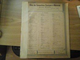 Choix dec Compositions Classiques et Modernes pour piano