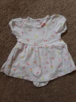 Bawelniana sukienka C&A rozmiar 56