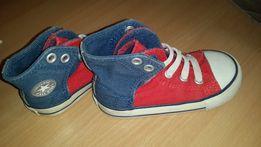 Кеды Converse на липучках стелька 14 см (размер 7)