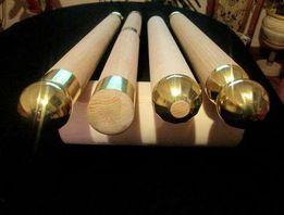 Poręcz drewniana okrągła