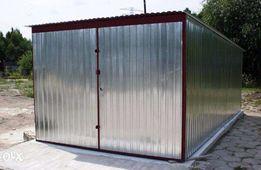 Garaż blaszany 3x5 Garaż blaszak na budowę Garaże blaszane WARSZAWA