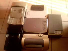 Printers for sale R100 each selling as scrap parts