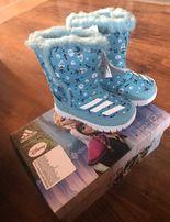 Зимові сапожечки Adidas Зимние ботинки Зимняя обувь