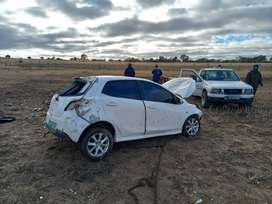 Mazda 2 recently in an accident looking to sell