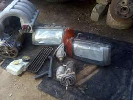 Vw polo lights cylinder head pipe starter for sale