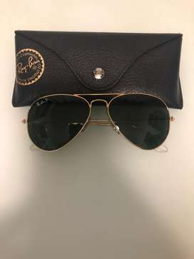 Authentic Avaitor Ray Bans