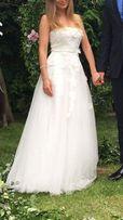 Suknia ślubna biała lub na poprawiny