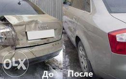 Покраска Авто Рихтовка Ремонт пластмассовых бамперов Сварочные работы