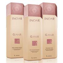 Кератин Inoar G.Hair (Иноар Джихэир) 3шт по 1000мл+подарок