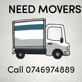 NEED MOVERS? CALL TODAY
