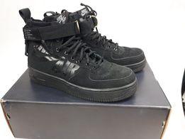 NIKE buty sportowe eu38 sf air af1 mid czarne HIT sneakersy PROMOCJA