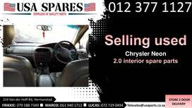 Chrysler Neon 2.0 LX 1999-05 used interior spare parts for sale