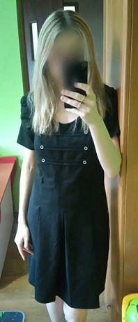 Sukienka rozm 38/M, czarna z guzikami, stan bardzo dobry Sosnowiec - image 2