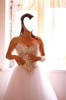 Suknia ślubna princessa - Princess, rozmiar 36 + welon