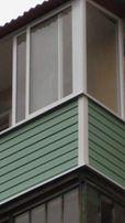 Обшивка балконов под ключ, пластиковые откосы, ремонт и регулировка по