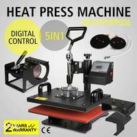 5 in 1 Heatpress Machine 0