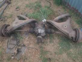 Ford sapphire front and rear suspension