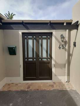 Aluminium windows, doors and gates
