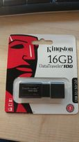 Фшешка Kingston DT100 g3 16GB USB 2.0/3.0/3.1