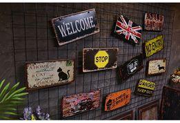 Винтажные Таблички номера LOFT Декор для бара гаража квартиры Дизайн